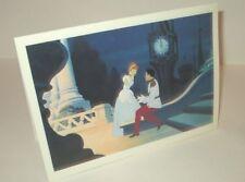 VINTAGE 1987 WALT DISNEY ART OF ANIMATION PROMO GALLERY CARD CINDERELLA