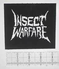 Insect Warfare - Crust Punk Patch Assuck Pretty Little Flower Magrudergrind Doom