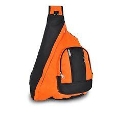 Everest Sling Single Strap Shoulder Backpack Messenger Bag ORANGE