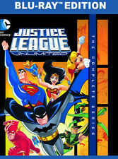 Justice League Unlimited: The Complete Series (2015, Blu-ray NEUF)3 DISC SET