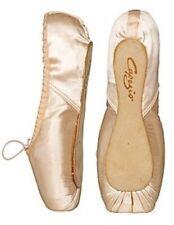New Capezio #191 Ariel Ballet Pointe Toe Dance Shoes 5 C (US Sz 7.5 M) Free Pads