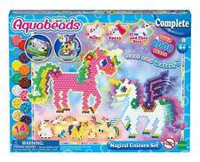 Aquabeads Magical Unicorn Set Over 2000 Aqua Beads 31489