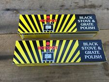 2 x 75ml TUBES HOTSPOT BLACK STOVE GRATE POLISH WOODBURNER BBQ HYDRACHEM
