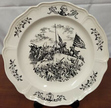 Wedgwood Surrender War 200th Anniversary Historical 10th State Virginia Plate