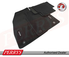 VAUXHALL INSIGNIA A VELOUR BLACK FRONT/REAR FLOOR CAR MATS UKCVA009 GENUINE OE