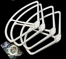"9"" Propeller Prop Protector Guard for DJI Phantom 1 2 3 Vision+ FC40 White"