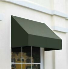 """Awntech 3' New Yorker Window or Entry Awning, 44"""" x 24"""", Sage Green"""