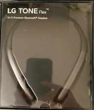 New listing Lg Tone Flex Xl7 Bluetooth Wireless Stereo Headset - Black