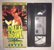 WCW Fall Brawl 95: War Games (VHS, 1995) WWF WWE NWO HULK HOGAN MACHO MAN STING