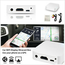 WiFi Mirror Link Box For iOS Android Video Miracast DLNA Screen Mirroring to Car