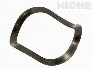 Pack of 22 Wave Washers 7mm ID 14mm OD 0.75mm Thick Steel w// Zinc Finish