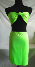 Adult Costume - Sexy Party Girl - Lime Green - Small/Medium