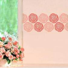 Rose Stencil Wall Art - SMALL - Easy to Use Stencils for Walls & Crafts!