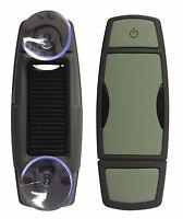 SPY Solar Handsfree 12V GPS Speed Camera Detector Alarm Warning (Top Gear)