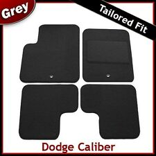 Dodge Caliber (2006 2007 2008 .. 2010 2011) Tailored Fitted Carpet Car Mats GREY
