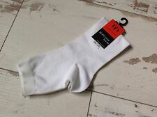 P24-27- Chaussettes DORE DORE (DD) NEUVES - Socqu unie blanc (8.50€)