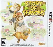 Story Of Seasons [Nintendo 3DS, NTSC, Farming Life Simulation, Harvest Moon] NEW