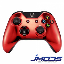 Xbox One 1 Custom Wireless Controller (Chrome Red Standard) New 3.5mm jack