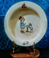 """RARE TST Co/ Taylor Smith & Taylor """"Mary Had A Little Lamb"""" Child's Deep Bowl"""