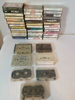 46 CLASSIC COUNTRY CASSETTE TAPES -GEORGE JONES, KEITH WHITLEY, GARTH BROOKS +