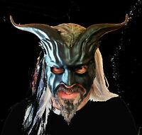 Black Goat Mask by Maskelle Masks flexible comfy Halloween costume adult costume