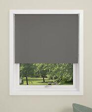 DEBEL 80 x 175 cm 100 Percent Polyester Uni Roller Blind, Grey