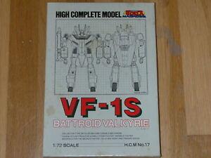 High Complete Model Valkyrie VF-1S 1/72 (Bandai) HCM Macross Robotech