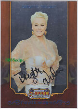 2009 AMERICANA PRIVATE SIGNINGS AUTO: BRIGITTE NIELSEN #129/250 SLY'S EX-WIFE