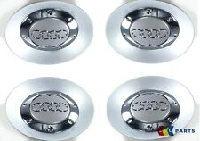 NEW GENUINE AUDI A4 S4 05-08 ALLOY WHEEL CENTRE CAP HUB SET OF 4 PIECES
