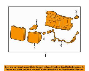 Hummer GM OEM 06-10 H3-Headlight 15951163