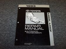 1993 Toyota Previa A46DE A46DF Transmission Workshop Shop Service Repair Manual