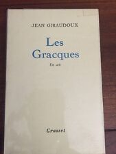 JEAN GIRAUDOUX - LES GRACQUES  - EDITION ORIGINALE GRASSET
