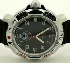 RUSSIAN VOSTOK KOMANDIRSKIE 811951 EMERCOM  MILITARY WRIST WATCH  NEW