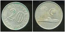 MALAISIE 20 sen 1968