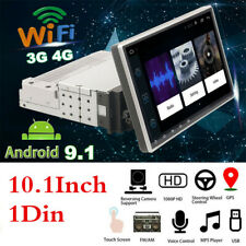 "10.1"" 1Din Android 9.1 HD Touch Screen Car Stereo Radio MP5 Player GPS WIFI DAB"