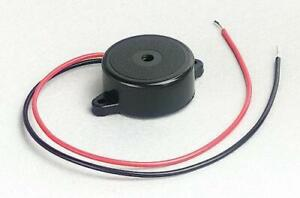 Piezo Buzzer Sounder 12V DC 23mm Panel Mounting BUY TWO AND GET A THIRD FREE