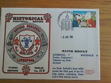 Official 1st day Cover Record Breakers Liverpool 7 Rochdale 0 Rush record 1996