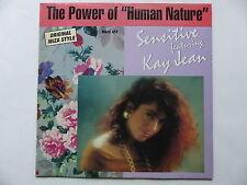 """MAXI 12"""" SENSITIVE feat KAY JEAN The power of """" human nature """" 1319 6"""
