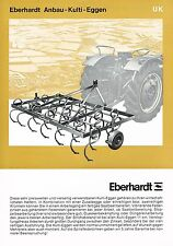 Eberhardt Anbau- Kulit- Eggen UK, orig. Prospekt 1969
