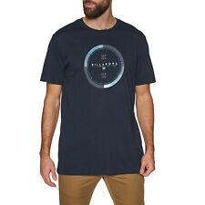 Billabong Completo Rotador Camiseta De Manga Corta-Azul Marino Todas Las Tallas