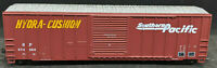 ROUNDHOUSE: SOUTHERN PACIFIC SP #674858. BROWN BOXCAR Hydra-Cushion. VINTAGE HO