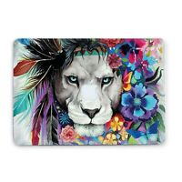 Lion Macbook Case 11 12 Inch Cover Macbook Air Pro 13 15 2018 Top Bottom Printed