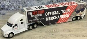Custom 1/64th Kenworth T700 Taylor Swift 2013 The Red Tour Merch Truck 3