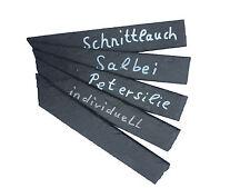 Pflanzenschild / Kräuterschild Schiefer ca. 2,5x15cm