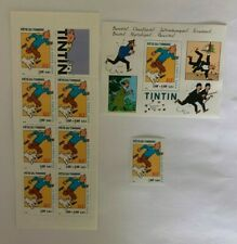 Lot Carnet France 2000 neuf YT BC3305+ BF28 + YT3303. Tintin, Hergé