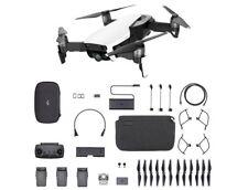 DJI Mavic Air Fly More Combo Arctic White Portable Drone 3-Axis Gimbal 4K Camera