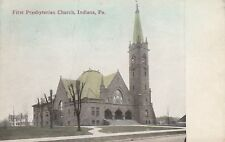 *(S)  Indiana, PA - First Presbyterian Church - Exterior and Grounds 3/22/1913