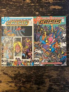 Crisis On Infinite Earths #11, 12 (DC) Free Combine Shipping