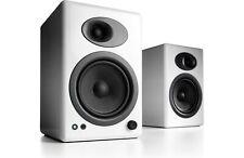 Audioengine A5+ Premium powered bookshelf speakers (White) - Authorized Dealer