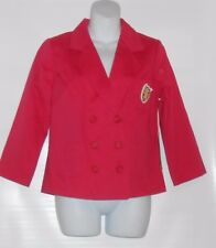 Olsenboye Junior Blazer Jacket Red Medium (M) NWT
